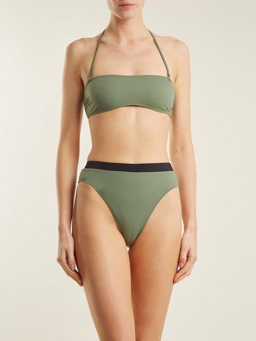 The Alexa bandeau bikini top by Solid & Striped