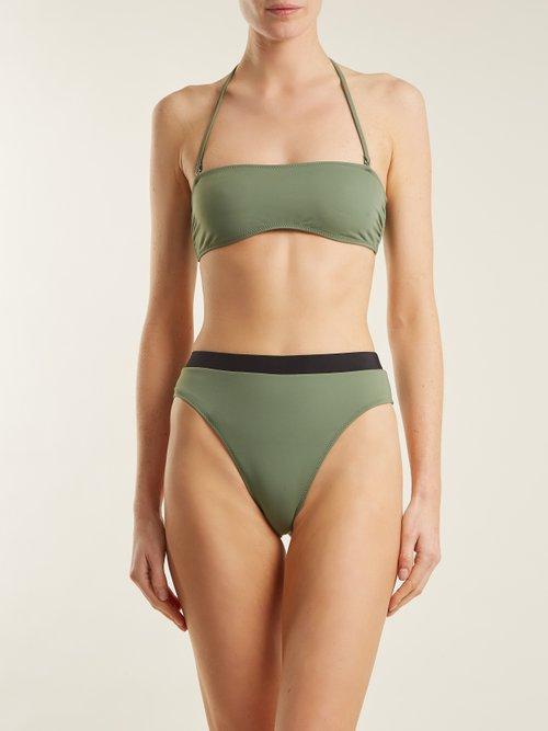 The Alexa high-rise bikini briefs by Solid & Striped