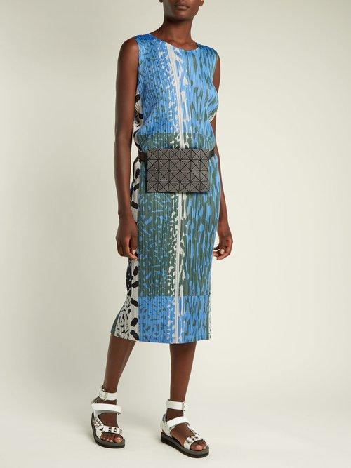 Lucent PVC waist bag by Bao Bao Issey Miyake
