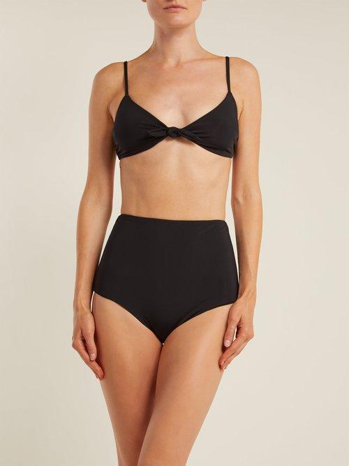 Lydia high-rise bikini briefs by Mara Hoffman