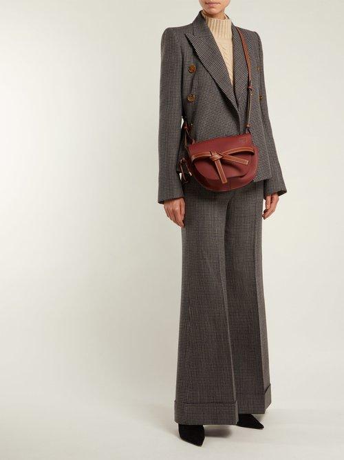 Gate leather cross-body bag by Loewe