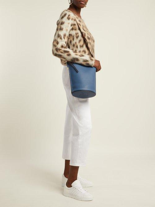 Gate leather bucket bag by Loewe