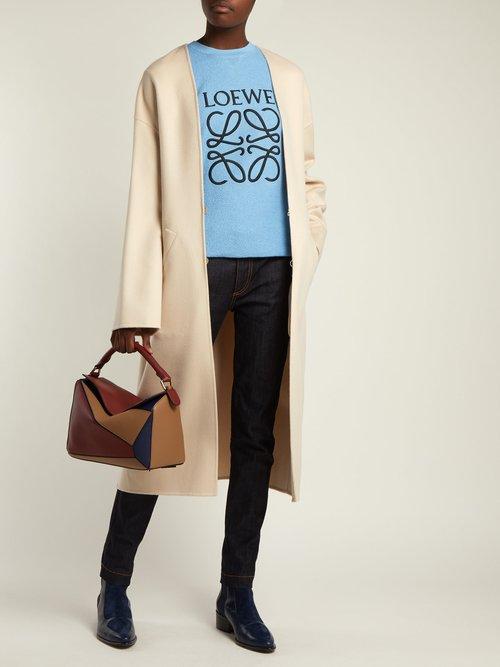 Anagram cotton sweatshirt by Loewe