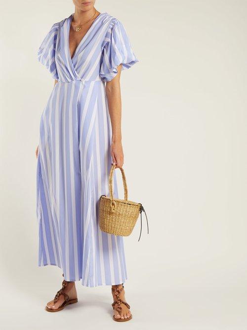 Marieke poplin dress by Thierry Colson
