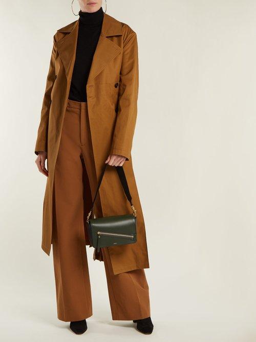 Warwick leather shoulder bag by Joseph