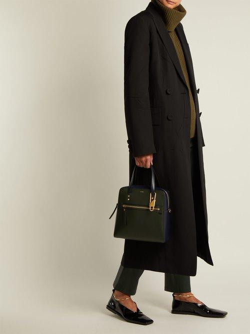 Ryder leather shoulder bag by Joseph