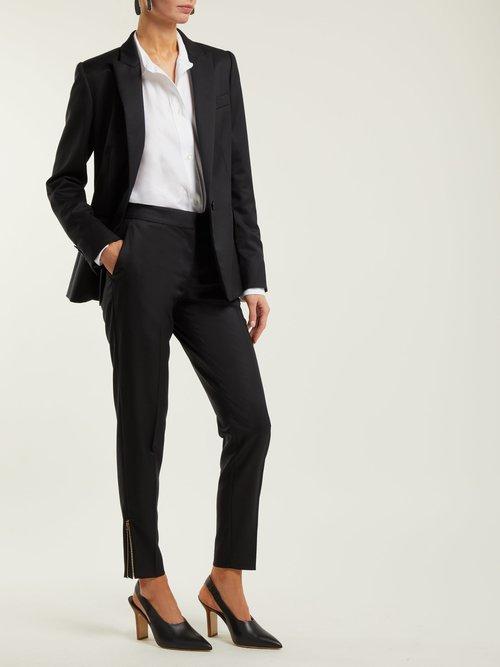 Ingrid Tailored Wool Jacket by Stella Mccartney