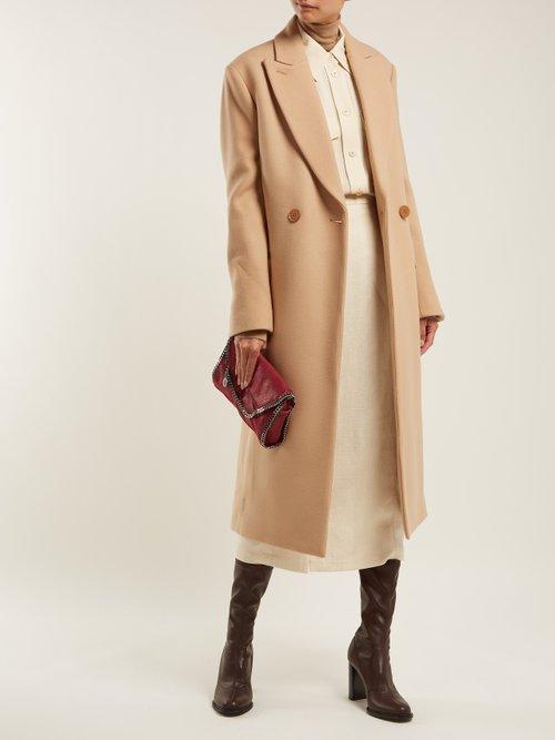 Twill Overcoat by Stella Mccartney