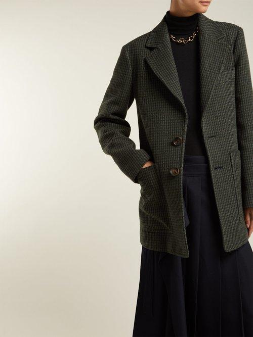 Marko Houndstooth Tweed Jacket by Joseph