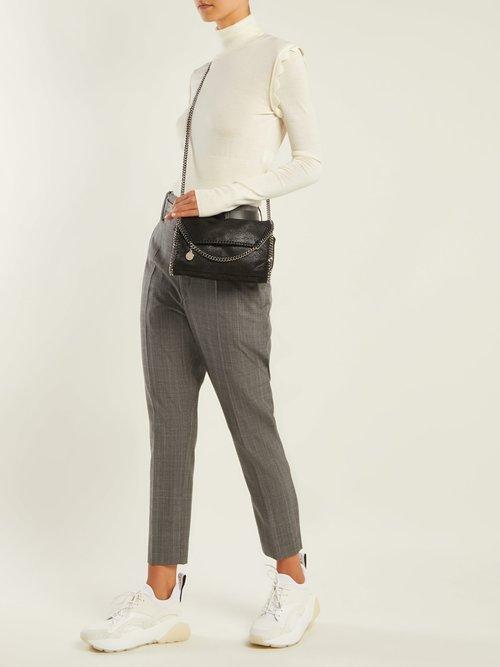 Falabella faux-leather mini cross-body bag by Stella Mccartney