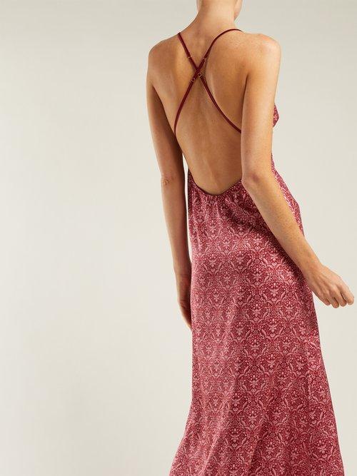 V & a Signature Silk Blend Nightdress by Coco De Mer