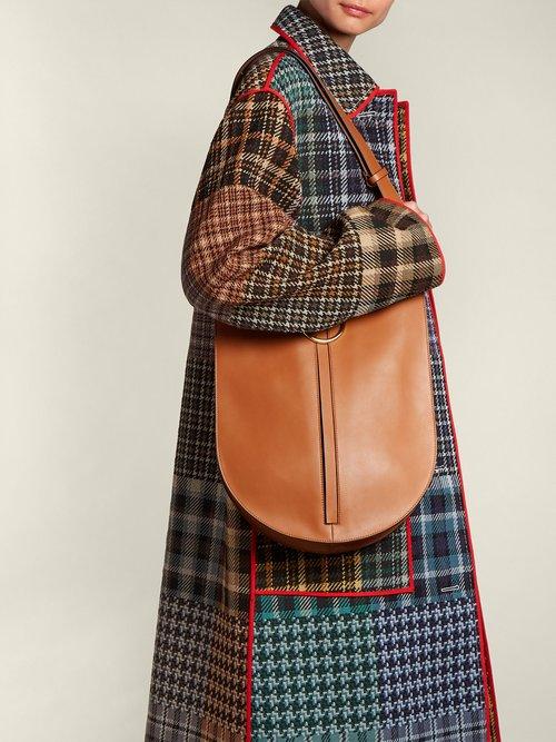Earring medium leather bag by Marni