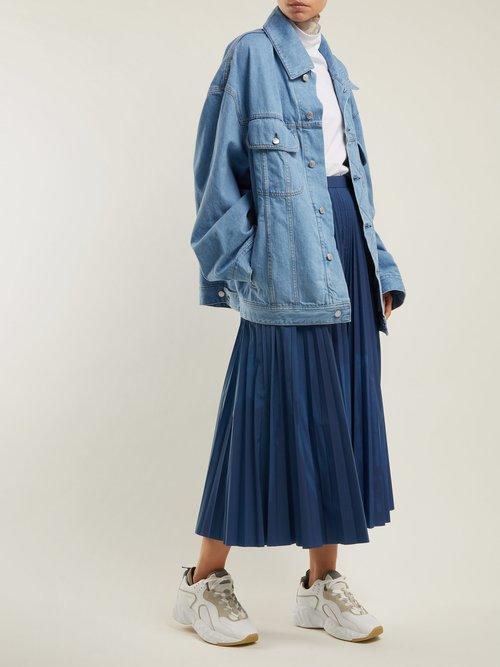 Oversized Denim Jacket by Acne Studios