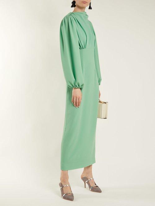 Niamh stretch-crepe pencil dress by Emilia Wickstead
