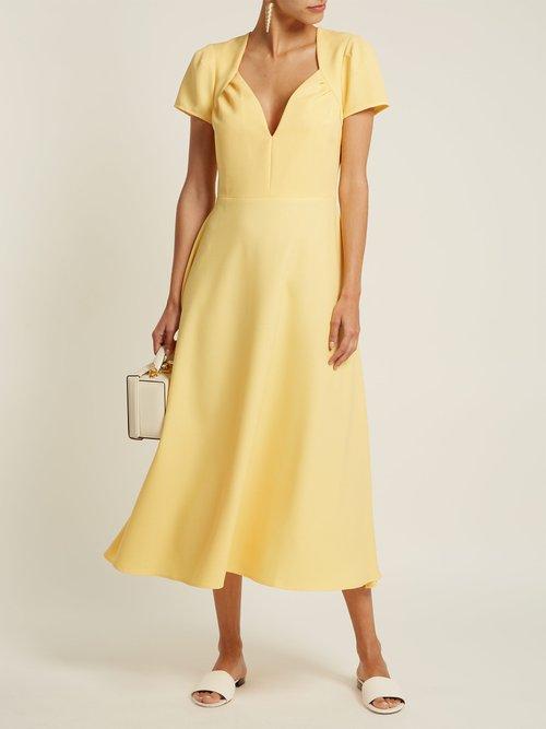 Tina crepe dress by Gioia Bini