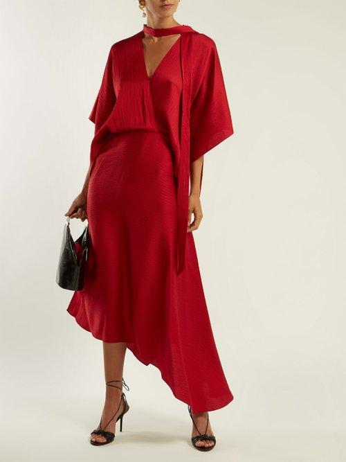 Meyers hammered silk dress by Roland Mouret