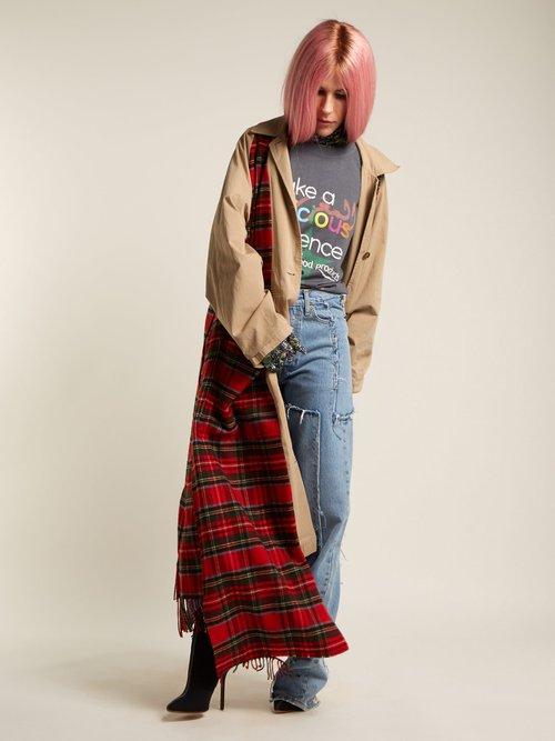 Photo of High Rise Straight Leg Jeans by Vetements - shop Vetements online sales