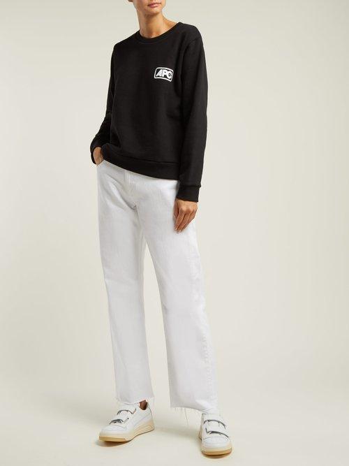 Odette U.S. logo cotton sweatshirt by A.P.C.
