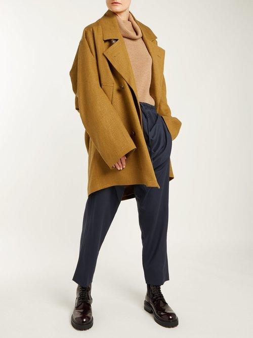 Gabelle Hemp Trench Coat by Vivienne Westwood