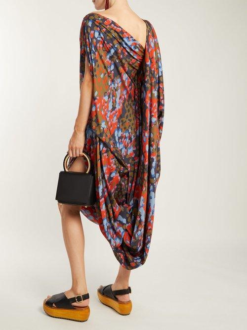 Fetzen camouflage-print toga dress by Vivienne Westwood