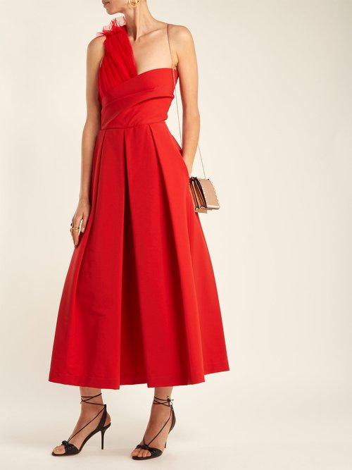 Edie asymmetric gown by Preen By Thornton Bregazzi