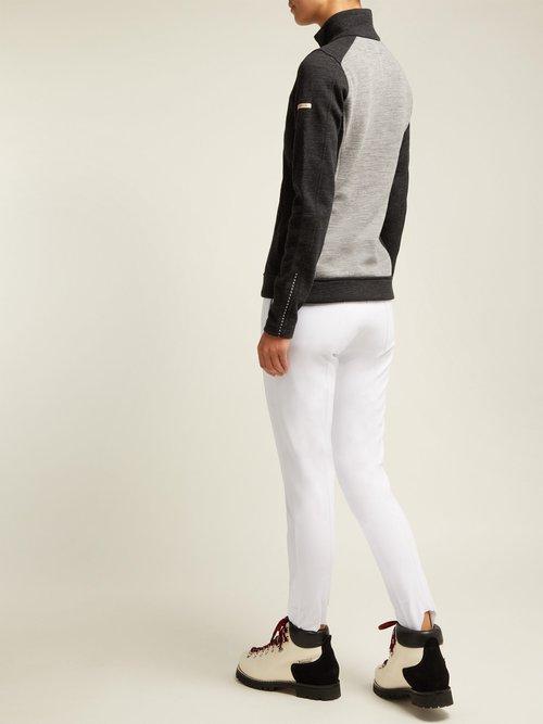 Divide Wool Blend Jacket by Capranea