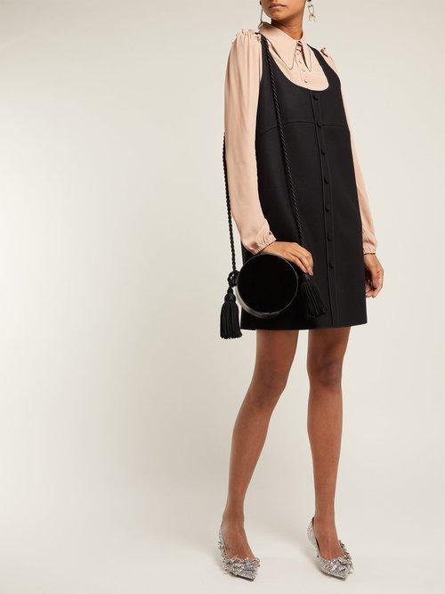 Layered Pinafore Dress by No. 21