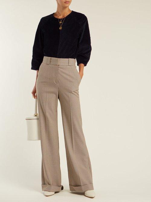 Attal Cotton Blend Corduroy Top by M.i.h Jeans