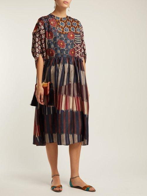 Lilo Silk Dress by Biyan