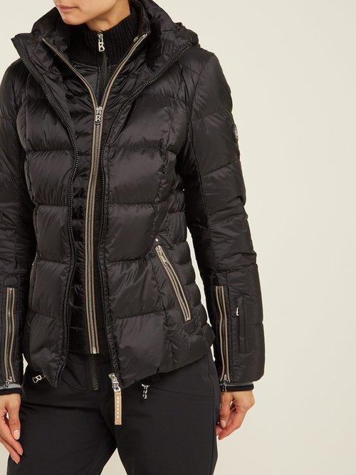 Vera Hooded Quilted Down Ski Jacket by Bogner