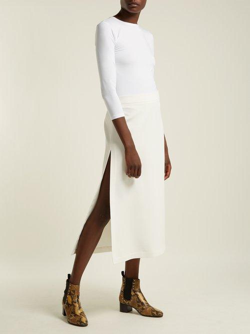 Pima cotton-blend T-shirt by Atm