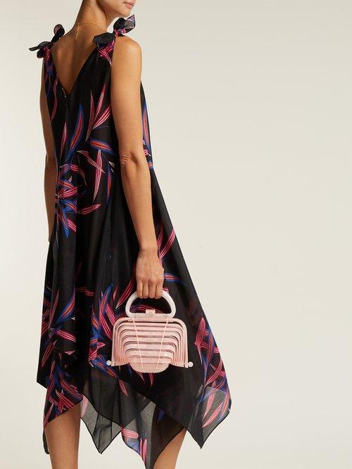 Quincy Print Cotton Blend Dress by Diane Von Furstenberg