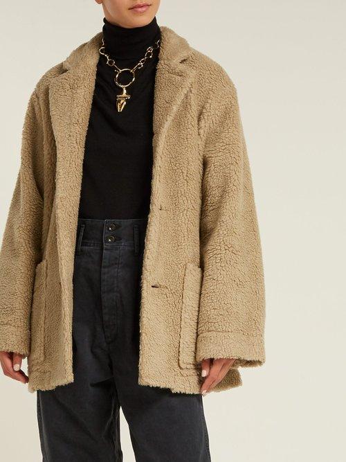Faux Fur Teddy Coat by Chimala