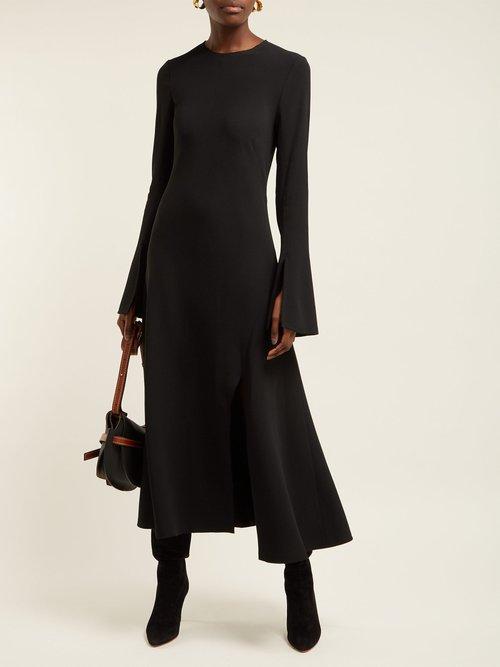 Melinda Crepe Dress by Khaite