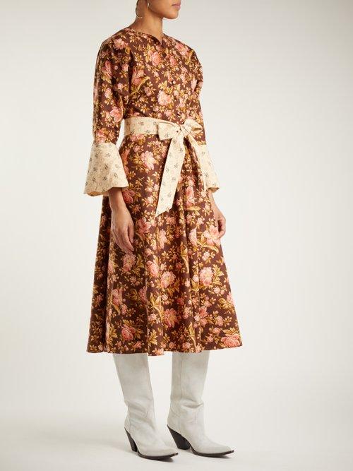 Photo of Floral Print Cotton Dress by Batsheva - shop Batsheva online sales
