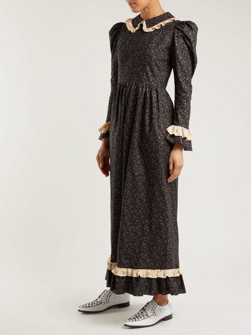 Floral-print prairie dress by Batsheva