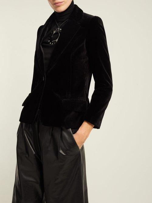 Humphrey Velvet Jacket by Nili Lotan