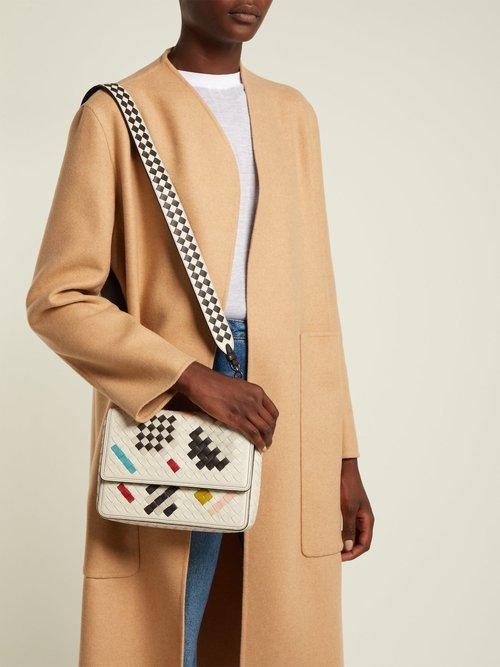 Alumna Intrecciato shoulder bag by Bottega Veneta