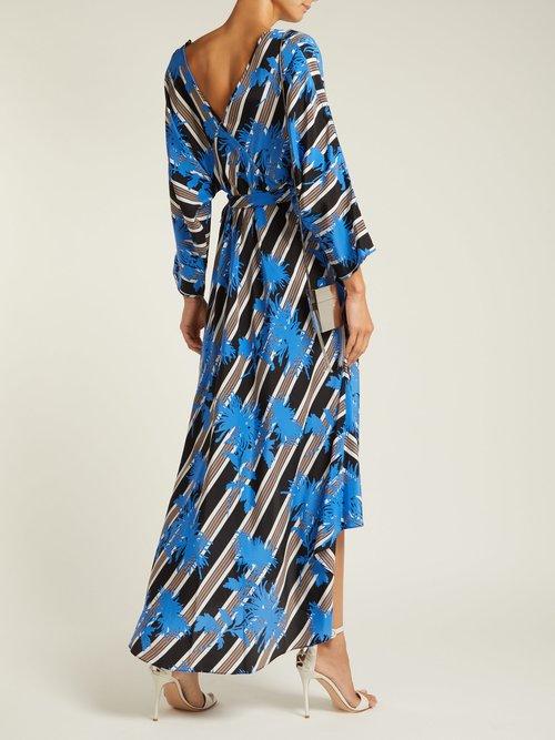 Eloise Silk Jersey Midi Dress by Diane Von Furstenberg