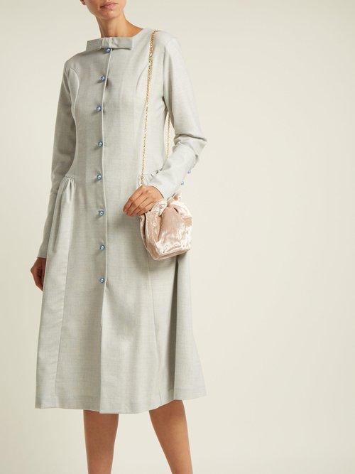 Photo of Wool Blend Midi Dress by Sale - shop Sale online sales