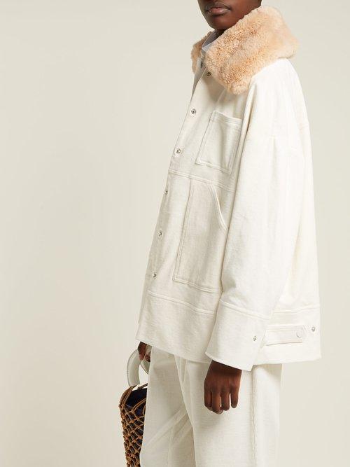 Ridgewood Corduroy Jacket by Ganni