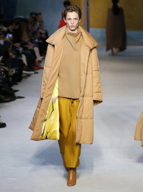 Maera Quilted Cotton Coat by Roksanda