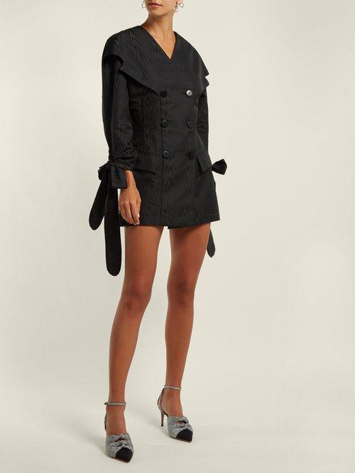 Moire mini dress by Attico
