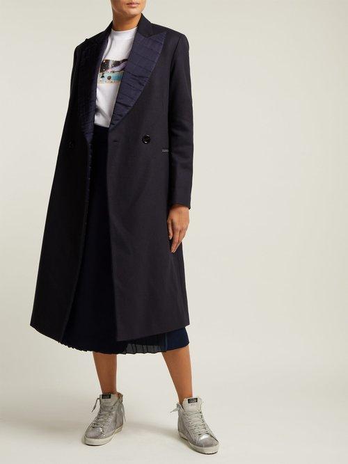 Cristal Wool Blend Coat by Golden Goose Deluxe Brand