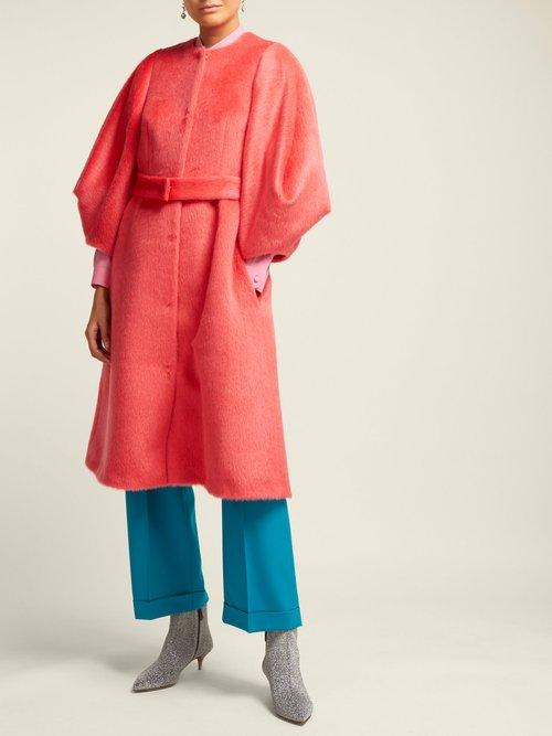 Single Breasted Wool Coat by Delpozo