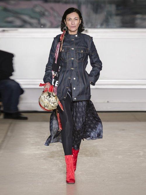 Panelled Denim Jacket by Marine Serre