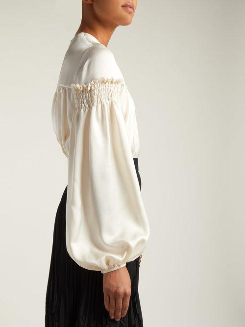 Silk blouse by Alexander Mcqueen