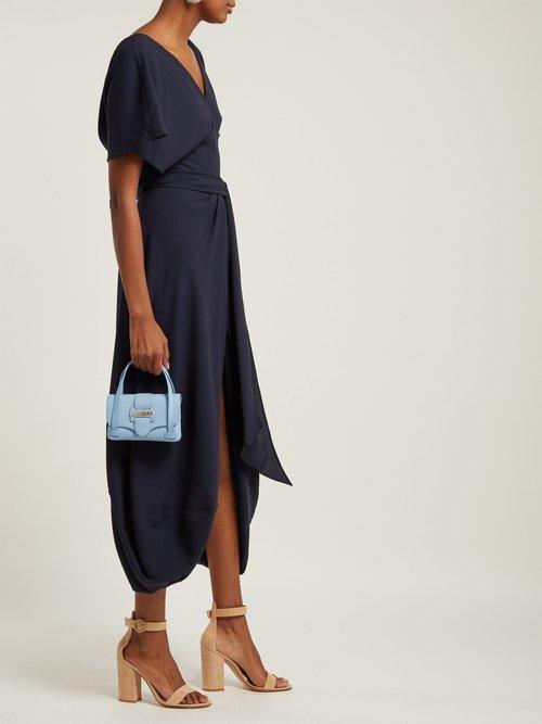 La Robe Souela Split Hem Midi Dress by Jacquemus