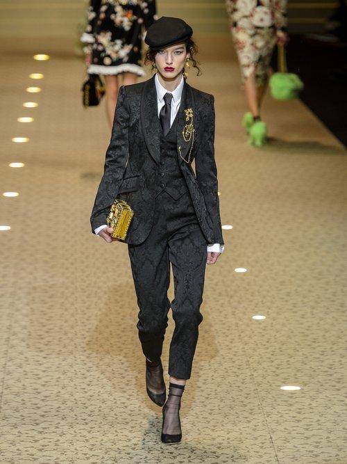 Satin Waistcoat by Dolce & Gabbana