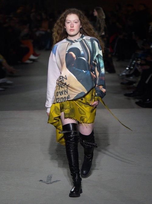 Printed sweatshirt by Marques'Almeida